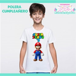Polera Super Mario...