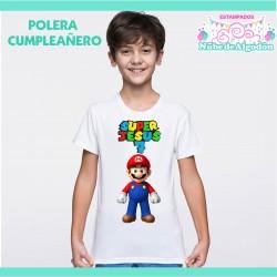 Polera Mario / Luigui /...