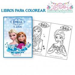 Frozen Libros para Pintar...