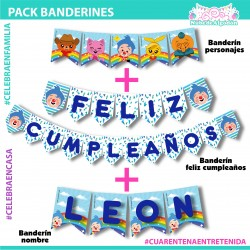 Pack Banderines Feliz...