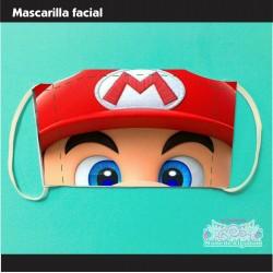 Mascarilla Super Mario...