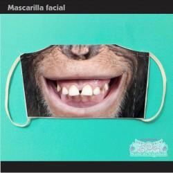 Mascarilla Chimpancé Mono...