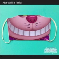 Mascarilla Gato Chesire...