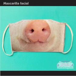 Mascarilla Cerdito Pig...