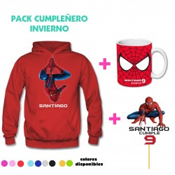 Pack SpiderMan Poleron...