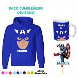 Pack Capitán América...