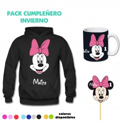 Pack Minnie Poleron...