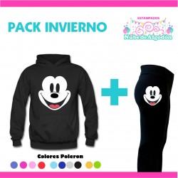 Pack Mickey Poleron + Calza...