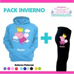 Pack Peppa Pig Poleron +...