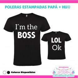 Pack Poleras Papa e hija/o...