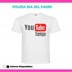 Polera Youtube Tiempo Dia...