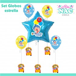 Set Globos Cumpleaños Plim...