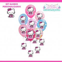 Set Globos Cumpleaños Hello...