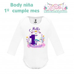 Body Unicornio Niña...