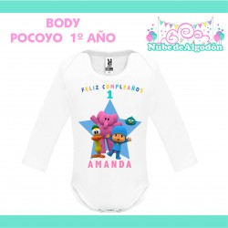 Body Pocoyo Estampado...