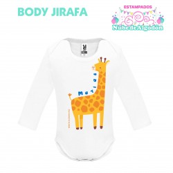 Body Jirafa Estampado...