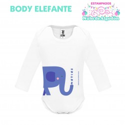 Body Elefante Estampado...