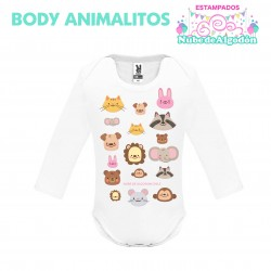 Body Animales Estampado...