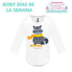 Body Mapache Estampado...