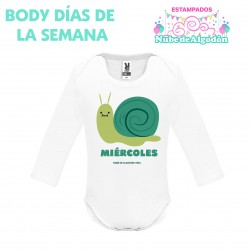Body Caracol Estampado...
