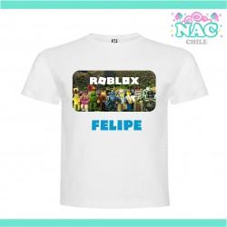 Polera Roblox Modelo 2...