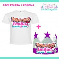 Pack Bebes Llorones Polera...