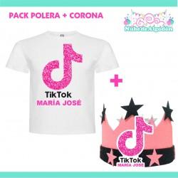 Pack Tik Tok Polera Corona...