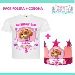 Pack Skye Polera Corona...