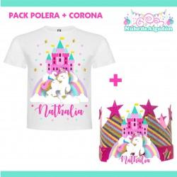 Pack Unicornio Polera...