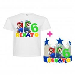 Pack Mario y Luigi Bross...