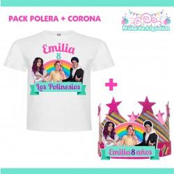 Pack Polinesios Polera...