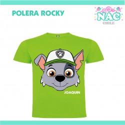 Polera Rocky Paw Patrol...