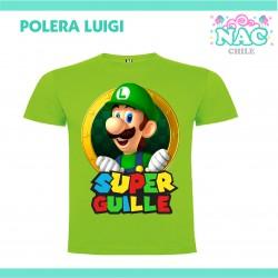 Polera Luigi Estampada...