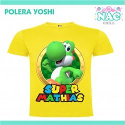 Polera Yoshi Estampada...