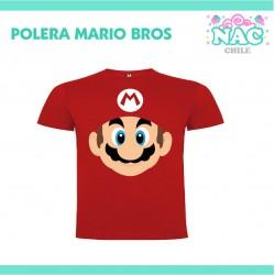 Polera Mario Bross Cara...