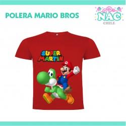 Polera Mario Yoshi...