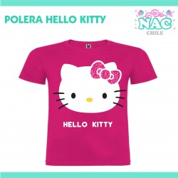 Polera Hello Kitty Fucsia...