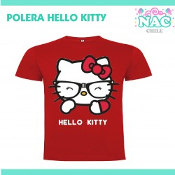 Polera Hello Kitty Lentes...