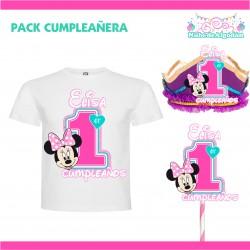 Pack Cumpleañera 1 Minnie...
