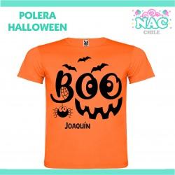 Polera Boo Calabaza...