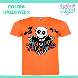 Polera Esqueleto Happy...