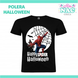 Polera Spiderman Halloween...