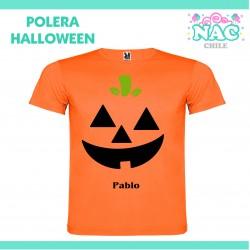 Polera Calabaza Halloween...