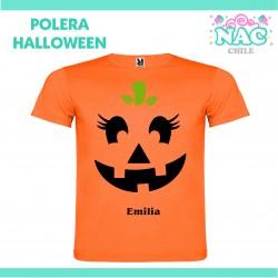 Polera Calabaza 2 Halloween...