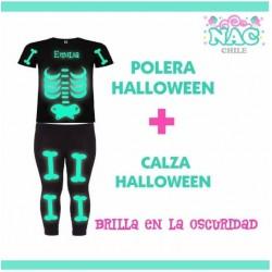 Polera + Calza Esqueleto...