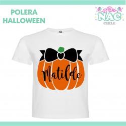 Polera Calabaza 4 Halloween...