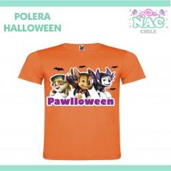Polera Paw Patrol Halloween...