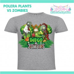 Polera Plant vs Zombies...