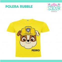 Polera Rubble Paw Patrol...