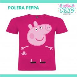 Polera Peppa Pig Estampada...